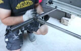 Приспособление для удобной перевозки габаритных материалов