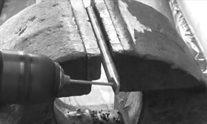 Самодельная щетка-насадка для электродрели