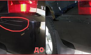 Как убрать мелкие царапины на машине своими руками